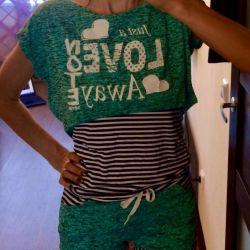 Shorts + T-shirt + Top