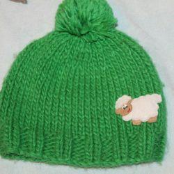 Ένα καπέλο.