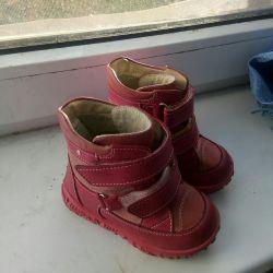 Children's shoes demi-season on a girl, p.21