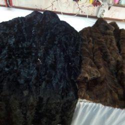 Fur coats for restoration, fur