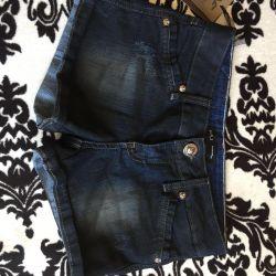 Pantaloni scurți pentru fetița subțire r25-26