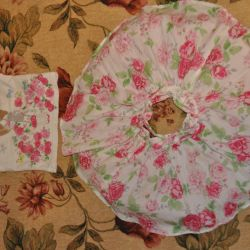 New elegant set Mothercare with flowers, 74
