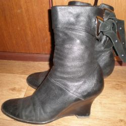 ankle boots clotilde 36r leather