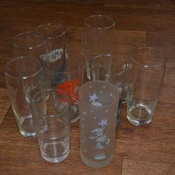 Glasses (11 pcs, price for all)