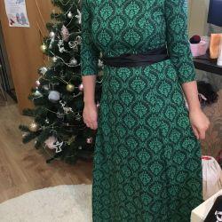 Kat evona'da uzun elbise