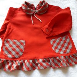 Dress for 6-9 months.