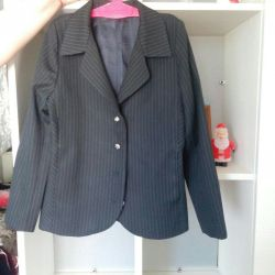 Jacket on a lining for a girl