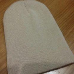 moda bej şapka