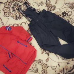 Down jacket / pants (winter)