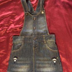 Jeans.sarafan rr 116