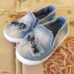 Slippers jeans for girls