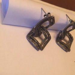Ασημένια σκουλαρίκια 925 για δώρο