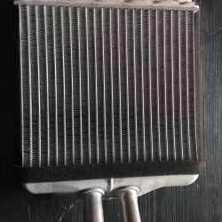 Heater radiator on Lanos