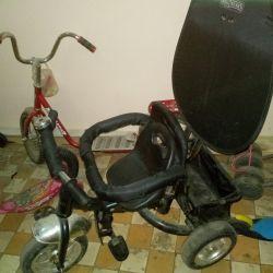Велосипед,самокат детские