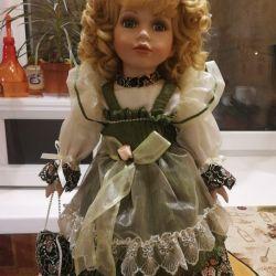 Фарфоровая кукла Remeco
