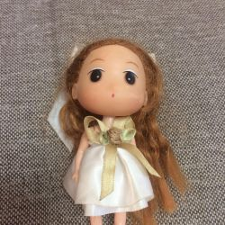 A doll with long hair