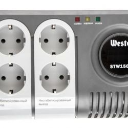 Стабилизатор напряжения WESTER STW1500P