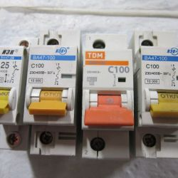 Electric switch 25/100 amp