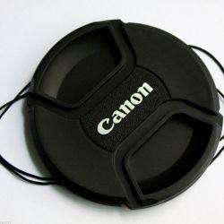 Lens 43-82mm ve filtre 55mm kapakları