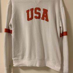 Sweatshirt Amerika beden S