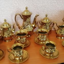 Кофейно чайный сервиз НОВЫЙ