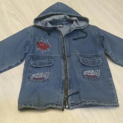 Куртка джинсова р.128 +