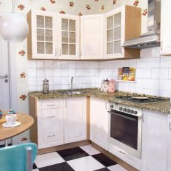 Mutfak açılı AURORA 140х250 cm nacre MDF
