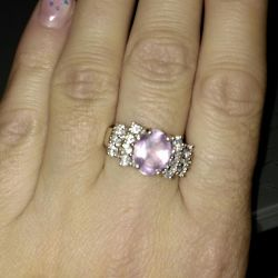 Silver ring size 18.5
