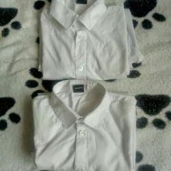 Рубашки для подростка на 13-14 лет.