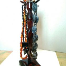A gift for your beloved. Jewelry stand