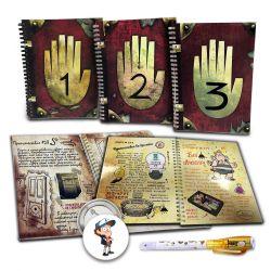 Τα ημερολόγια Gravity Falls 1 2 3 για την άνοιξη (σετ)