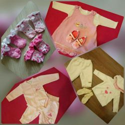 Package of clothes from birth to 6 months