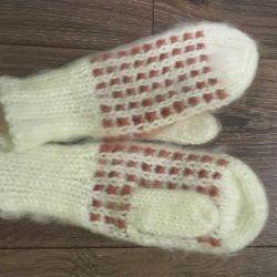 Γάντια / γάντια γυναικείου μαλλιού
