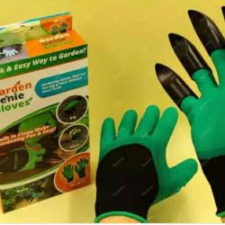 Gloves with claws for the garden