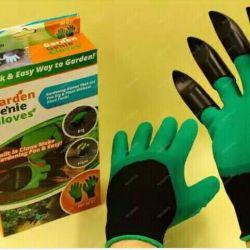 Bahçe için pençeleri ile eldiven
