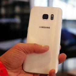 New Samsung Galaxy S 7, white