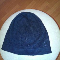 The cap is black