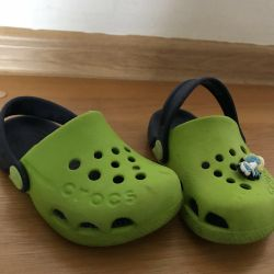 Crocks baby slippers