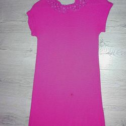 Яркое платье Benetton