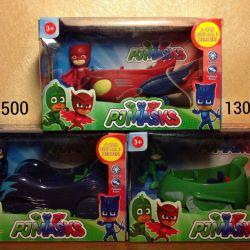 Arabalar ile maskeli kahramanlar