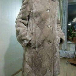 Fur coat muton new