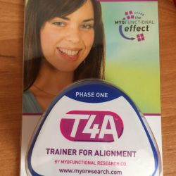 Trainer for teeth