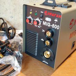 Αυτόματη συγκόλληση Ημιαυτόματη 2v1 συσκευή Τυφώνας MIG-600 Νέα