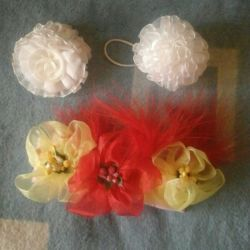 Headband and bows