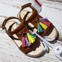 NEW cool sandals with tassels C & A (Germany)