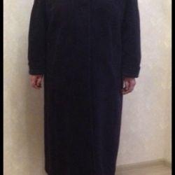 Пальто демисезонное кашемир б/у 56 размер