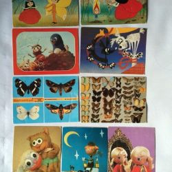 Postcards of the 80s