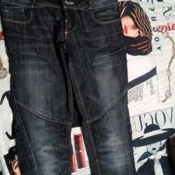 Jeans επιχείρηση Bershka μεγέθους 24