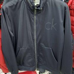 Μπουφάν Calvin Klein windbreaker νέο. Μαύρο