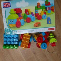 Εκπαίδευση τρένο Mega Bloks